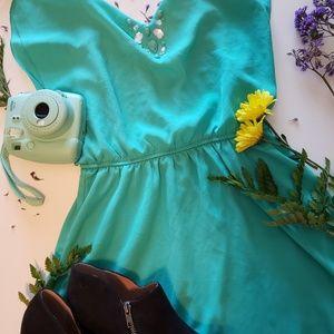 Cute Seafoam Summer Dress
